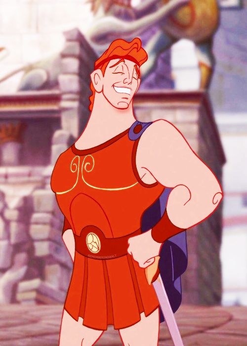 """Hercules (Tate Donovan) from """"Hercules"""""""