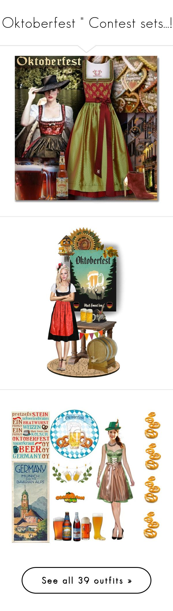 """"" Oktoberfest "" Contest sets...!!!"" by catyravenwood ❤ liked on Polyvore featuring Sportalm, Sergio Rossi, art, germany, german, oktoberfest, festival, contestentry, Vita V Home and H&M"