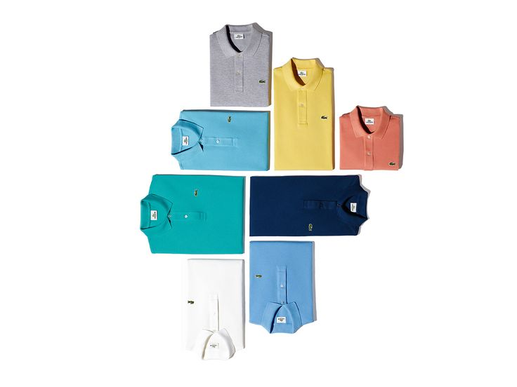 The Lacoste polo shirt, a timeless classic that suits dad best.