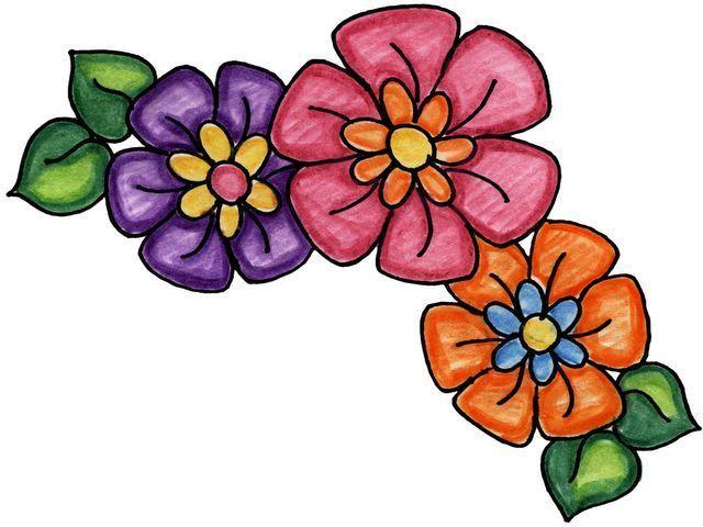 Imagenes de flores y mariposas - Imagenes y dibujos para imprimirTodo en imagenes y dibujos