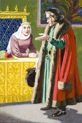 14.- On the third day a messenger told to the queen that he didn't find any new names