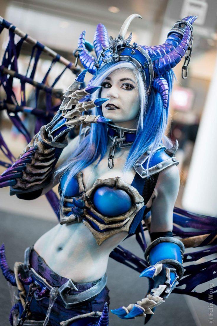 Danielle Beaulieu as Sindragosa Series: World of Warcraft ...