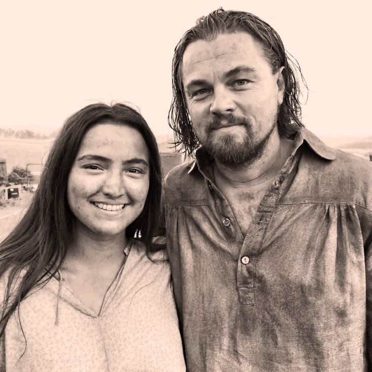 the revenant grace dove | You play the wife of Leonardo DiCaprio, a dream role for millions of ...