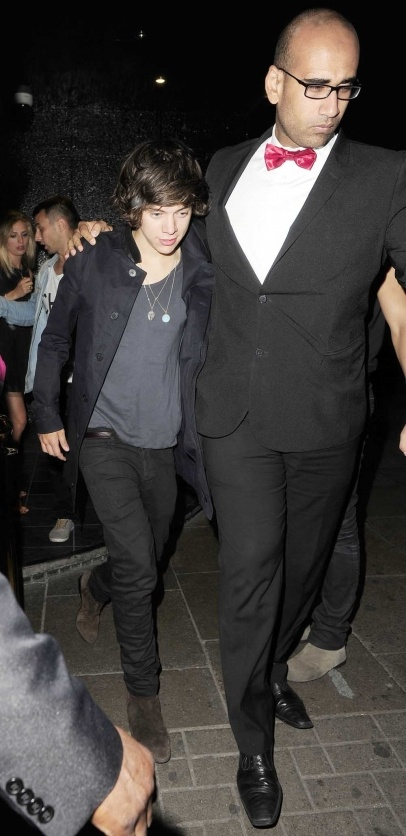 Harry Style from One Direction enjoyed a rare night out in London's West End. It started with a trip to The Rose Club, he then went to Jalouse Club. Instead of calling it a night, Harry decided to go onto a late night club called 'Scotch' in Mayfair