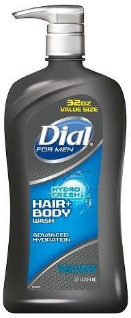 Dial For Men Hyrdro Fresh Bodywash - 32oz