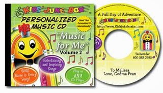 Glimpse: Personalized Music for Kids! ~ GIVEAWAY!