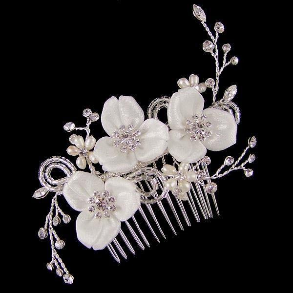 Romantische Bloemen Haarkam