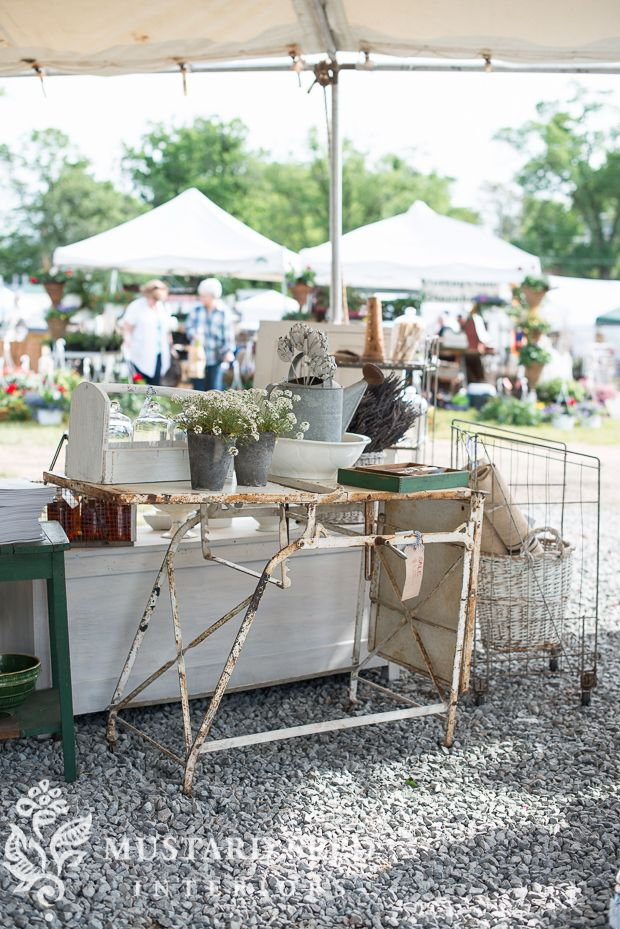 It's so sad, but the Lucketts Spring Market has been canceled for Sunday. There was heavy rain Friday night and it rained off an on all day on Saturday. The parking fields are covered with mud and standing water, so there is nowhere for customers to park. Just an FYI for those who were planning …
