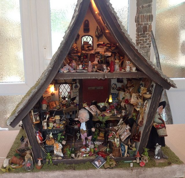 328 Best Images About Room Boxes, Small Dollhouses And