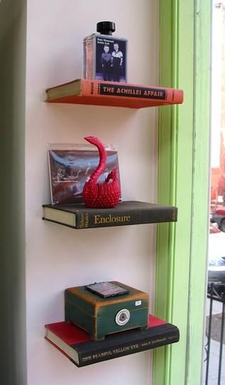 21 Cool Ways to Use Books as Decoration in Your Home | StyleCaster#_a5y_p=1788531#_a5y_p=1788531