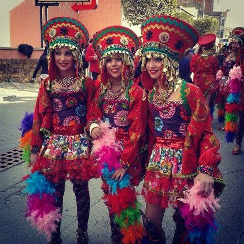Venim del Machu Pichu.Carnaval.Palamos.Catalunya.