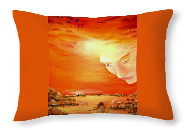 Throw Pillow,  home,accessories,sofa,couch,decor,cool,beautiful,fancy,unique,trendy,artistic,awesome,fahionable,unusual,gifts,presents,for,sale,design,ideas,orange,fantasy,fairy,sky