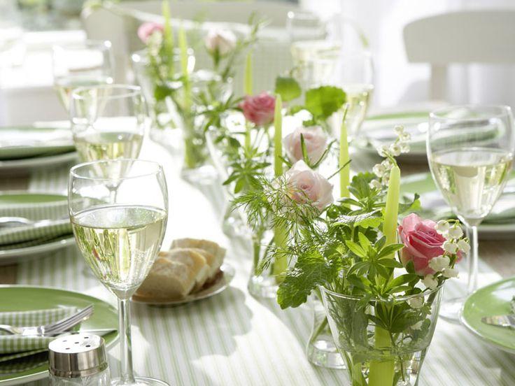 Inspirações do Ser: Amo de paixão uma Linda Decoração de Mesa...e sou fã de Ervas Aromáticas...!