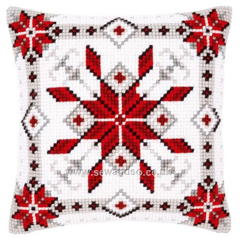 Shop online for Snow Crystal Cushion Front Chunky Cross Stitch Kit at sewandso.co.uk. Browse our great range of cross stitch and needlecraft products, in stock, with great prices and fast delivery.