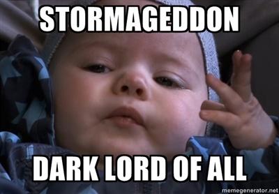 Doctor Who,Craig Owens' baby Alfie, AKA Stormageddon, story untold?