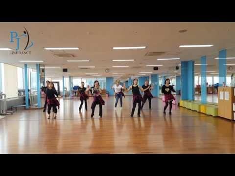 (16) 어부바 linedance (PJ) - YouTube
