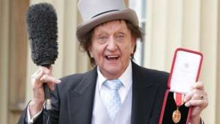 Ken Dodd: Liverpool comedian 'tickled' by knighthood
