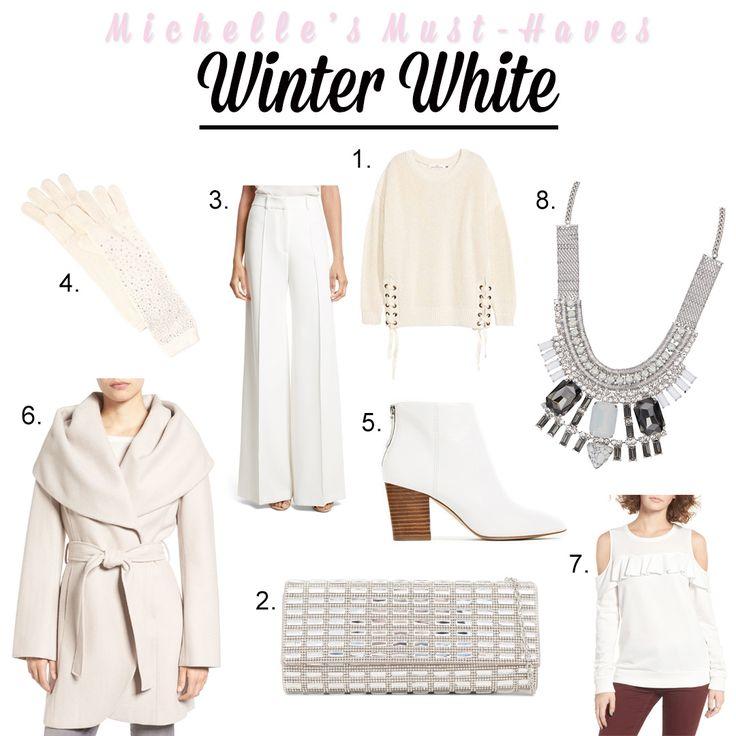 Michelle's Favourites ~ Winter White  http://openhartz.com/home/2017/1/24/michelles-favourites-winter-white