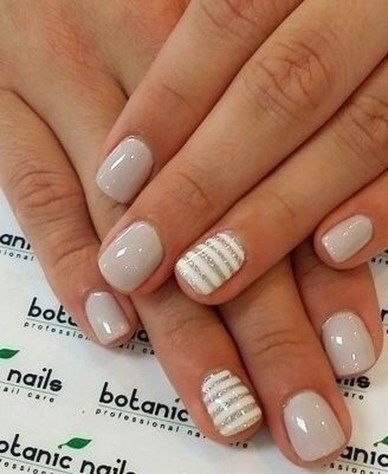 50+ süße Nail Art Designs für kurze Nägel 2019 – Hair & Nails