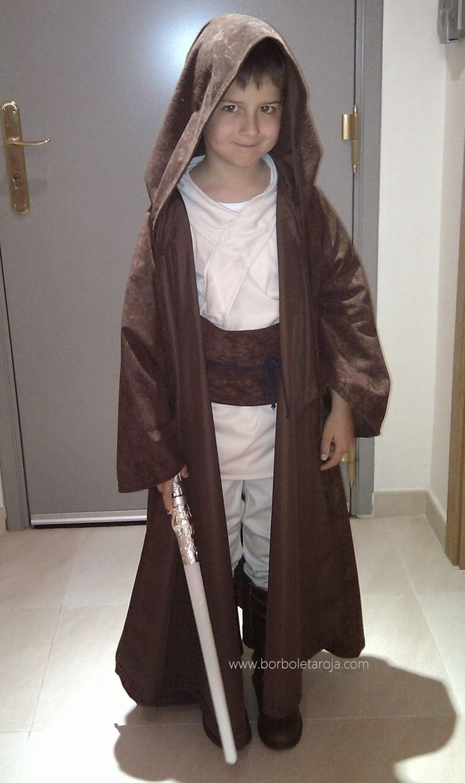 Borboleta Roja: Hazlo tú mismo: Disfraz de Jedi