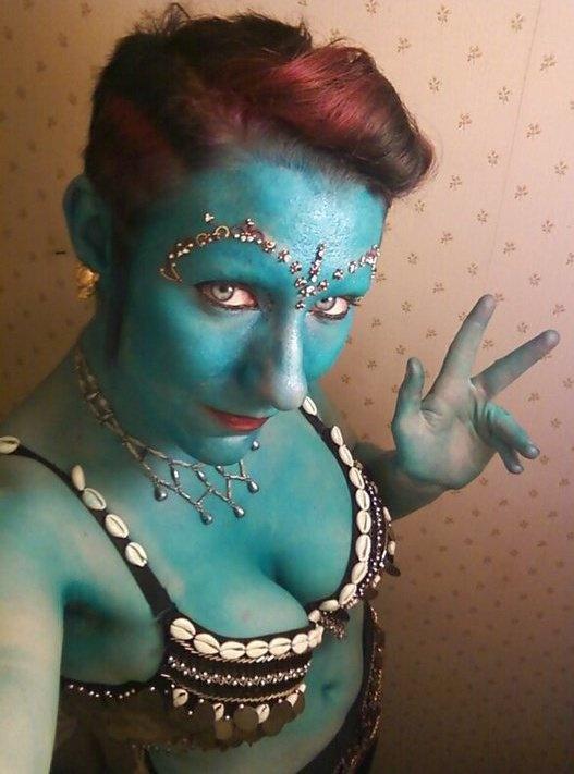 Genie Makeup Aladdin Pinterest Makeup