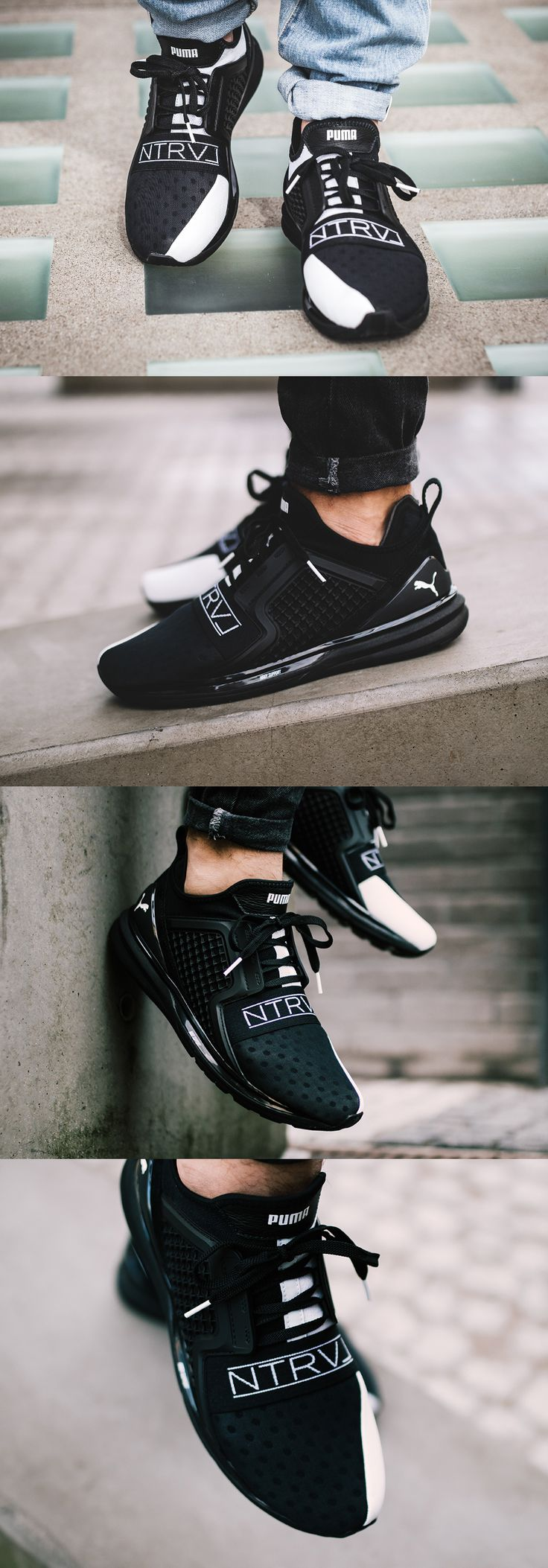 #STAPLE X #PUMA #IGNITE #LIMITLESS #BLACK #WHITE http://fr.puma.com/fr/fr/collections/select/puma-x-staple?affID=M2L&mktID=AFF:M2L:Tradedoubler:affiliate:FR