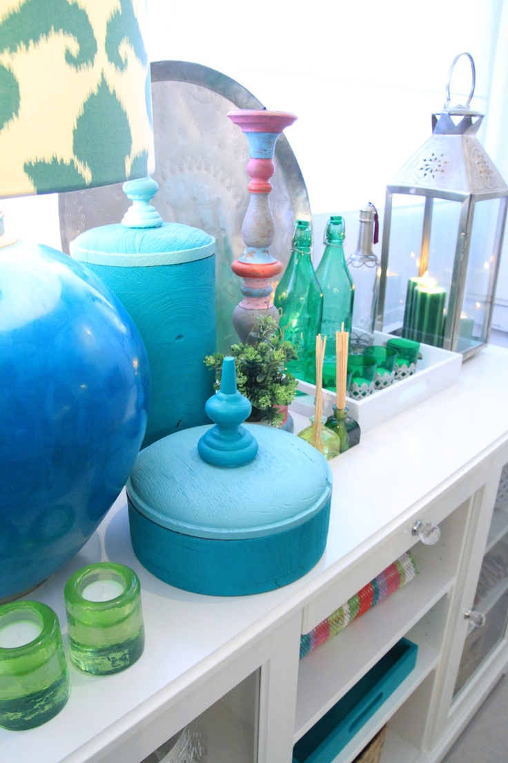 Morocan Inspired Kitchen - Project by Ana Antunes for House Makeover Show - Turquoise, green, morrocan objects, lantern