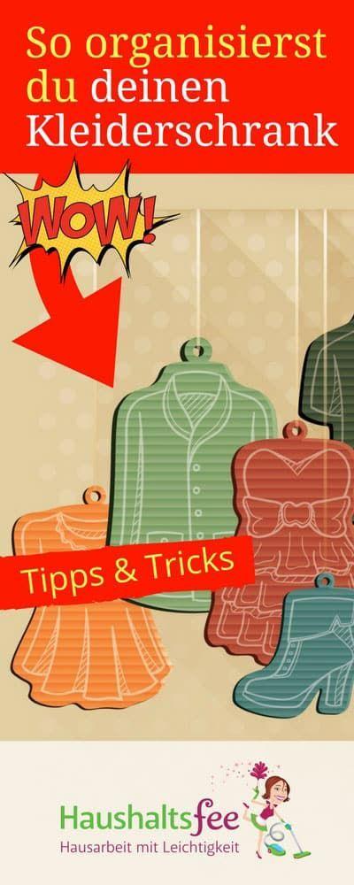 Inspirational Checkliste Kleiderschrank aufr umen u neu organisieren
