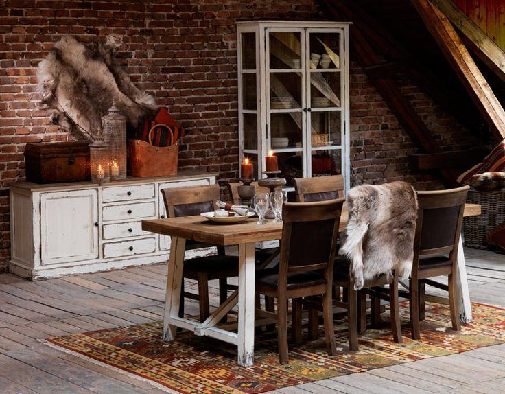 Inez by Rowico #vintage Kierrätetystä puumateriaalista. #recycle #kruunukaluste #ainain #homedeco #scandinavianhomes #interior #inspiration #interiordesign #homeinspiration #sisustus #sisustusinspiraatio #sisustusidea #diningtable #diningroom