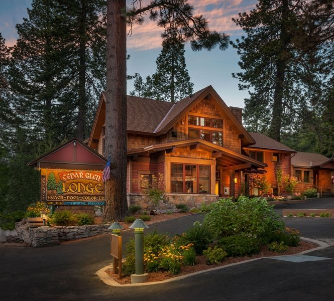 Cedar Glen Lodge Located In Beautiful Tahoe Vista Is Making Changes For A Greener Future