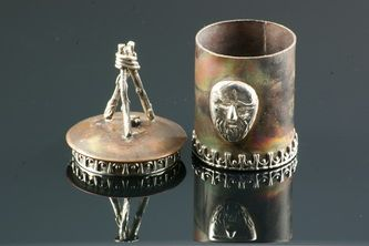Legacy of the King-copper sterling and fine silver box.
