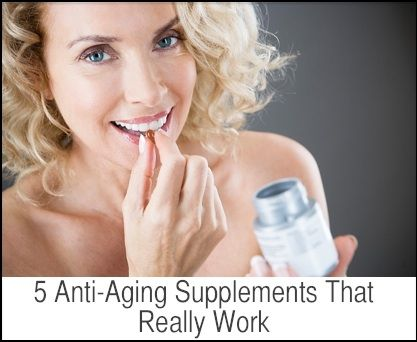 5 Anti-Aging Supplements That Really Work!  These supplements can fight wrinkles, varicose veins and thinning hair. Click here to learn more about these anti-aging supplements.