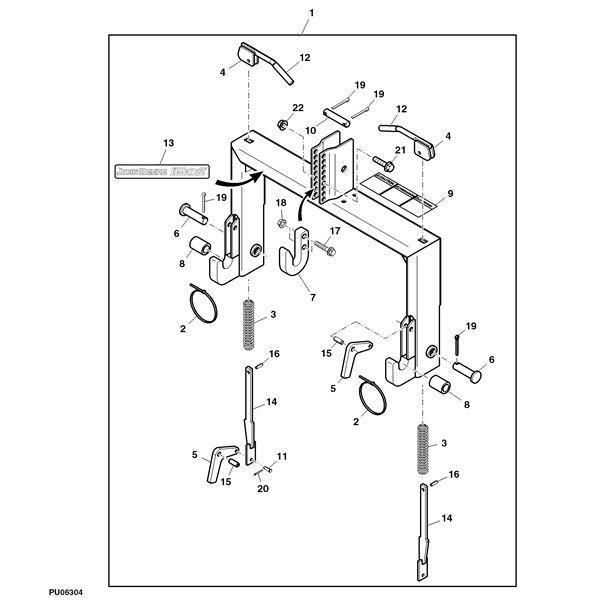 29 best John Deere Tractor Attachments images on Pinterest