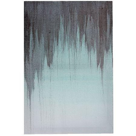 Living & Co Canvas Art Imperial Paint Drip 40cm x 60cm