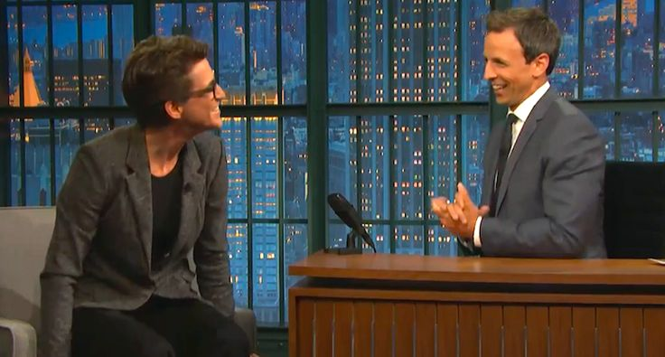 Rachel Maddow and Seth Meyers laugh their asses off at Donald Trump's GOP 'frontrunner' status