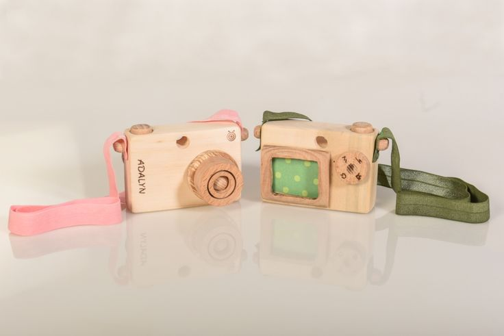 Personalized Wooden Toy Camera
