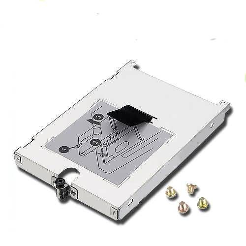 Feature: This Hard Drive Caddy locks into your system fo safety and security. This Hard Drive Caddy is for HP Campaq Laptop PC. It comes with HDD Connector,Cover and Screws. Interface:SATA NOTE:Please check your laptop hard drive interface carefully before bidding Specification: 1....