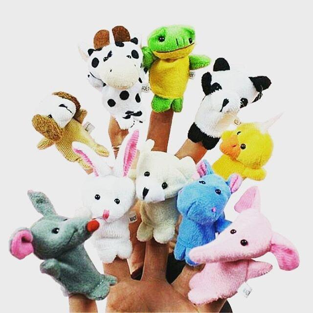 WEBSTA @ mainanbayi - Boneka Jari Sebagai Mainan EdukatifTerdapat 10 jenis binatang yang dapat dimainkan diantaranya bebek, katak, anjing, kuda nil, sapi, panda, kelinci, gajah, beruang dan tikus. Boneka Jari yang berbentuk binatang ini cocok untuk mempermudah interaksi dengan anak-anak, selain itu dapat membantu perkembangan imajinasi anak-anak tumbuh dan berkembang. Melalui boneka jari, kita juga dapat mengajarkan anak-anak mengenai hal-hal baru di sekitarnya dan sebagai alat mendongeng…