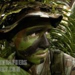 How to Properly apply Camouflage Face Paint | Crescent Work & Outdoor