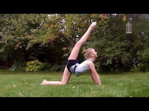 Beginner Contemporary Dance! - YouTube