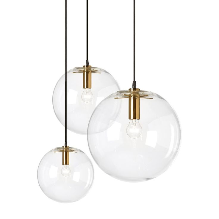 SELENE pendant lamp - new in brass - by Sandra Lindner for ClassiCon - light licht Hängelampe Lampe Messing