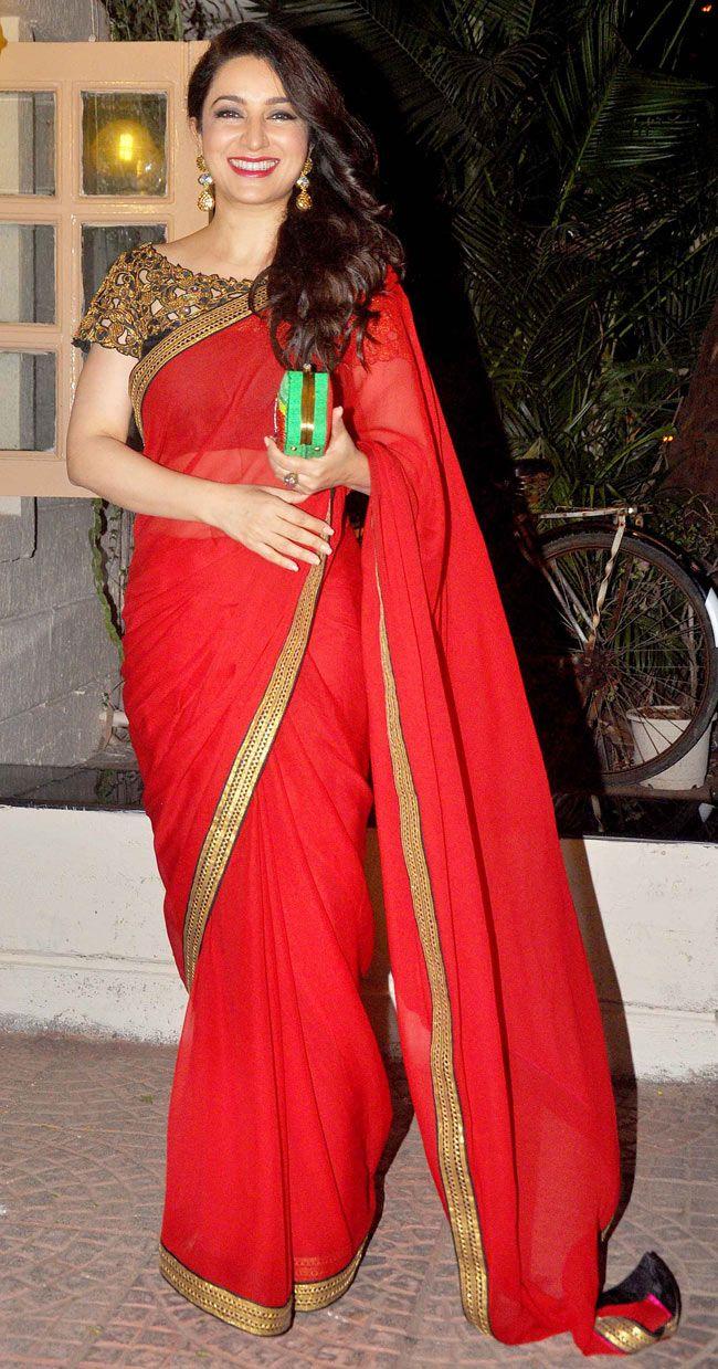Tisca Chopra at Ekta Kapoor's Diwali bash. #Bollywood #Fashion