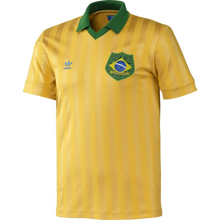 adidas Camiseta de Fútbol Retro Brasil | adidas Colombia