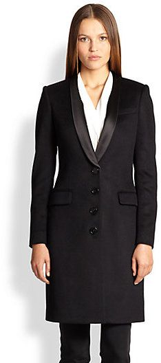 Burberry London Stockbridge Tuxedo Coat
