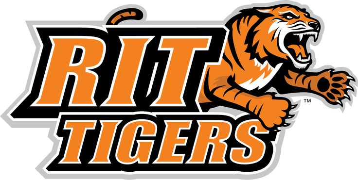 Tigers, Rochester Institute of Technology (Rochester, New York) Div III, Liberty League #Tigers #RochesterNewYork #NCAA (L10821)