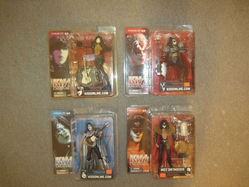 Kiss 4 Lot Creatures Of The Night Mcfarlane Action Figure