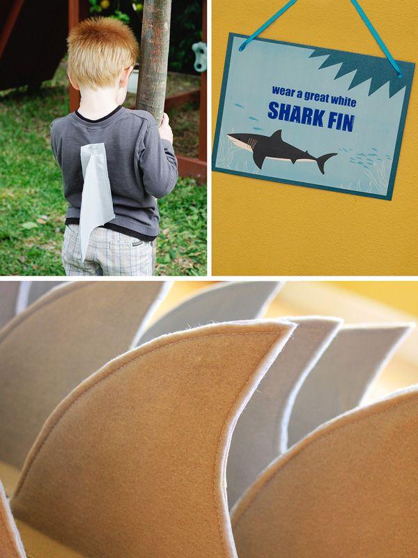 CAUTION: Sharks! & Scuba Birthday Party // Hostess with the Mostess®