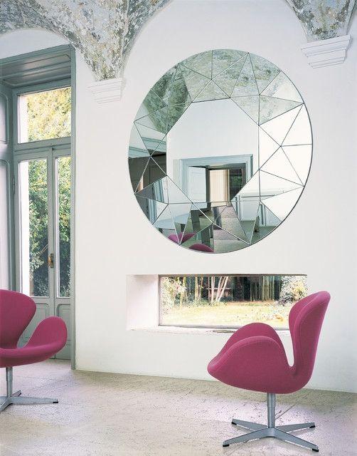 Moderner Spiegel Für Wohnzimmer #wandspiegel #groß #einrichtung #deko  #schöneideen #miroir