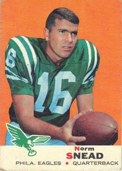 1969 Topps #85 Norm Snead Front