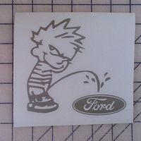 Calvin Pee on Ford Decal http://www.customsense.com/calvin-pee-on-ford-decal-p-19.html
